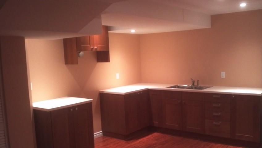 Basement Renovations Kitchen Renovation Design Cabinet Laminate Flooring Vents Electrical By Adept Services Renovation Construction