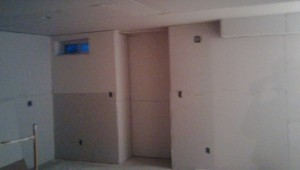 Drywall In Basement In Milton ON By Adept Services Drywall Contractor