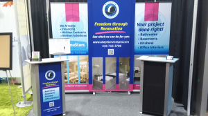 Adept Services Booth at the National Home Show March 13 22 2015 Direct Energy Centre Toronto Trade Show